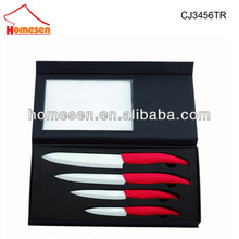 Homesen high quality ceramic swiss kitchen knife