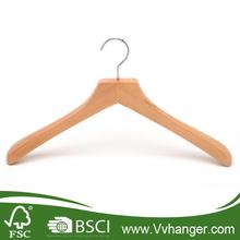 LH081 Best Deluxe Coat Hangers with flat head, strong metal swivel hook