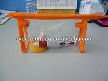 Cheap Clear PVC Pouch, Travel Pouch PVC with zipper