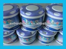 adjustable classic pp bottle packed gel type car air freshener
