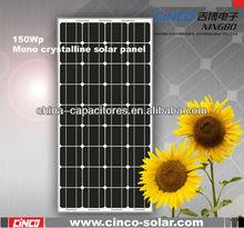 150W mono crystalline solar panel,150w,160w,165,170w solar panels for sale
