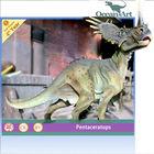 Theme park large resin dinosaur sculpture