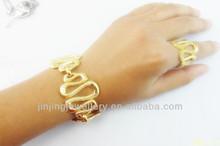 2015 top sales snake design magnetic bracelet sets fashion jewelry