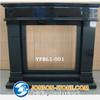 high quality shanxi black granite fireplace,absolute black granite fireplaces,china black granite fireplace