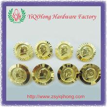 Metal Chairman Mao lapel pins