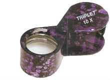 Round Loupe Lavender Radium 10X