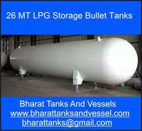 26 MT LPG Storage Bullet Tanks