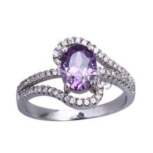 2014 new fashion white gold ring