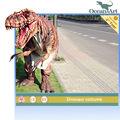 Dinosaurier-maskottchen kostüm