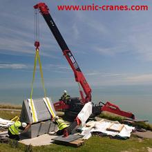 Européenne Mini grue UNIC URW-547 ( 4.0 t x 2.5 m ), Marquage CE