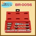 De alta calidad 7 pcs set de limpieza para el abs sensor de kit de herramientas/reparación de coches herramienta de mano kit