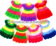 Newly Korean Handmade Crochet kitchen towels cleaning cloth, scourer using,Crochet Scrubbies