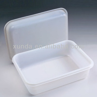 Newest brand high quality plastic food packaging heat sealable box