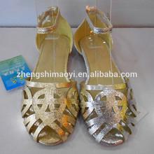 293-F06-15 kid flat sandals new design 2013 cheap fashion girls sandals