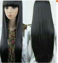 Beautiful long straight wig