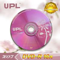flower cheap blank dvd+r disc disk dvd 8X