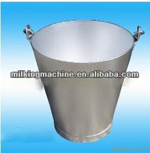 Transportable de aluminio de la leche cubo