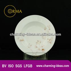 Good Quality Bone China Salad Plate