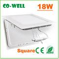 18W akrilik tavan ışık paneli açtı, warmwhtie/nötr beyaz soğuk/white+ceiling ışık kapakları led tavan düz panel ışığı