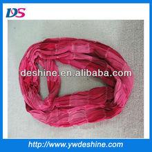 New style wholesale fashion cotton pink neckerchief drape hot sale for female winter scarf WJ-046