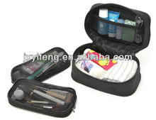 Supply Microfiber Strorage Wash Travel Case Three-piece Suit Cosmetic Bag Made In China