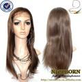 por cento 100 importados peruca do cabelo humano virgem peruca dianteira do laço peruca de cabelo natural