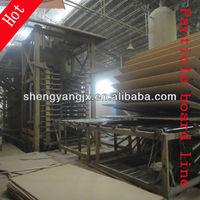 combination melamine faced laminated woodworking chipboard particleboard furniture making machine,furniture press machine