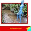 fiberglass life size movie cartoon of avatar statues