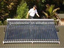 Mini Portable Solar Collector with Mini Heat Pipe Vacuum Tube