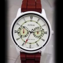 Watches ladies,silicone watches luminator,fashion silicon watch