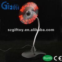 led mini fan usb