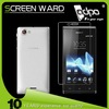 Matte Surface Best Touching anti glare screen protector For Sony Xperia V