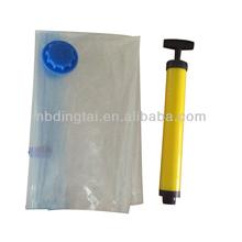 jewelry organizer wall space saving storage bag with hand pump