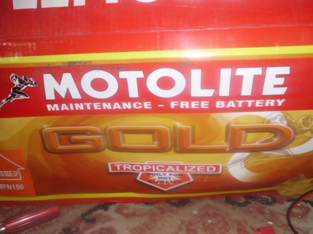 gel battery motolight