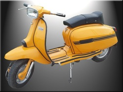 Lambretta GP 200 CC YELLO OCHRE
