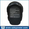 rechargeable NI-MH dewalt power tool batter for DC9091, DE9038, DE9091, DE9092, DE9094, DE9502, DW9091, DW9094, 3000mAh,