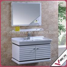Favorites Compare Solid oak bathroom illuminated cabinet with mirror