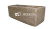 Round Lightweight Concrete Trough, Light-Cement-Planter