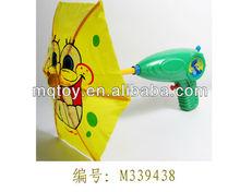 แปลกพลาสติก33cmร่มการ์ตูนปืนฉีดน้ำของเล่นใหม่ผลิตภัณฑ์ของผู้ผลิตจีนที่ทำในจีนในช่วงฤดูร้อนของเล่น