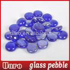 Kits part DIY ocean blue glossy surface pebble