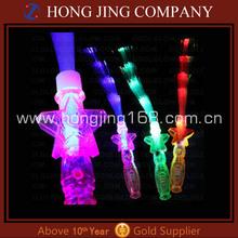 Fashional LED fiber optic light up wand for Christmas