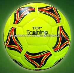 Top Training Quality Size 5 Yellow TPU Soccer ball