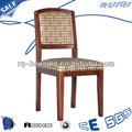 filipinas prancha de madeira de madeira curvada cadeira sem braços