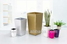 vertical plant pot,modern square flower pots,plastic flower pot