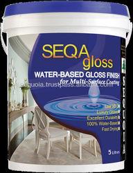 Gloss Paint - Seqagloss for multi surface coating