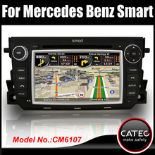 OEM 7 inch in dash 2 din car navigation & entertainment system for smart fortwo