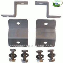 4 pcs Z style aluminum solar panel mounting brackets