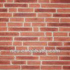 PU foam board PU foam brick 3.5KG/sqm wall tile stylish cambridge brick wall panel