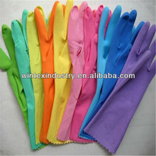 working gloves rubber