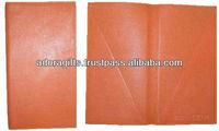 indian 5 star restaurant menu cover/ decorative menu covers leather